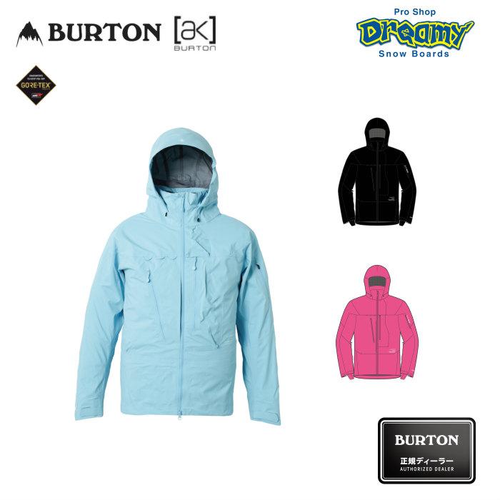 BURTON バートン Men's AK457 Guide Jacket 100441 レギュラーフィット スノー ジャケット GORE-TEX 3レイヤー ゴーグルポケット スノーボード 2019-2020 正規品