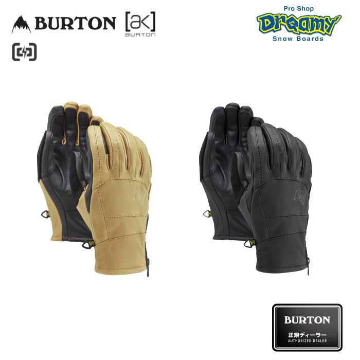 BURTON バートン [ak] Leather Tech Glove 102981 スノーグローブ 高耐久レザー Gnar Guardレザー フリースライナー タッチスクリーン対応 2019-2020 正規品