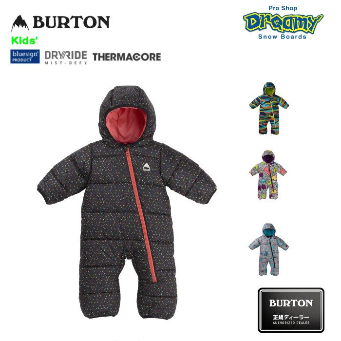 BURTON バートン Toddler Infant Buddy Bunting Suit 171481 ベビー スノースーツ DRYRIDE 撥水加工 フリースライナー クロスボディジップ キッズ 19-20 正規品