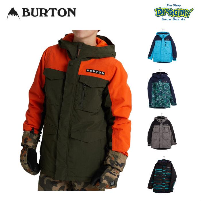 【即納】 WINTER2021 NEWモデル!!  BURTON バートン Boys' Covert Jacket 205371 ボーイズ スノージャケット レギュラーフィット Room-To-Growシステム 防水 透湿 速乾 キッズ 2021WINTER 正規品