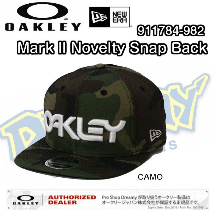 55a09106050 dreamy1117  OAKLEY Oakley MARK II NOVELTY SNAP BACK 911