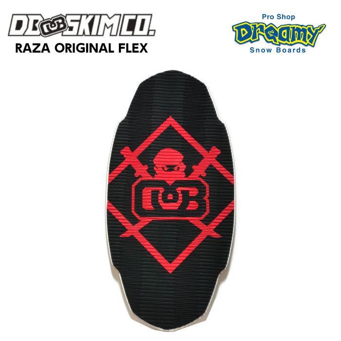 DB ディービー Raza Flex Original Black/Ninja ラザ フレックスモデル 3枚層 軽量モデル Mサイズ FLATSKIM フラットスキム スキムボード