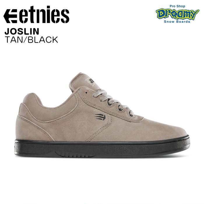 etnies エトニーズ JOSLIN 41010484259B スケートシューズ TAN/BLACK スニーカー スケートボード 正規品