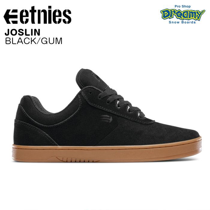 etnies エトニーズ JOSLIN 41010484964 スケートシューズ BLACK/GUM スニーカー スケートボード 正規品