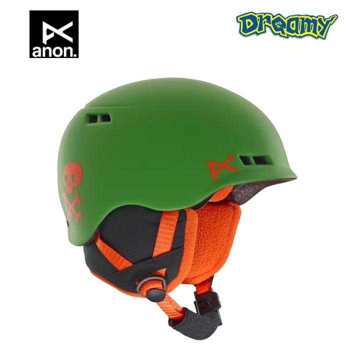 anon 2018-2019 BURNER GREEN SKULL Kid's ヘルメット キッズ 13330104304 BURTON ゴ-グル スノ-ボ-ド スケ-ト 正規品
