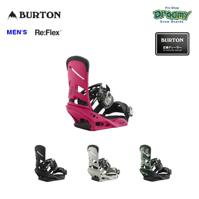 BURTON バートン MISSION Re:Flex ミッション リフレックス ミディアム 105461 スノーボード バインディング メンズ WINTER 2019モデル 正規品