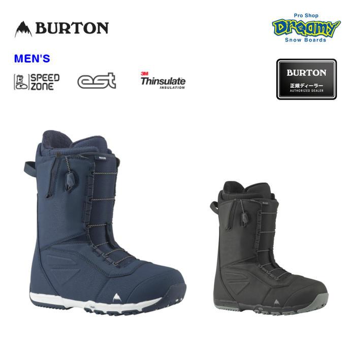 BURTON バートン RULER - ASIAN FIT ルーラー アジアンフィット 106301 SPEED ZONE 3M Thinsulate EST スノー ブーツ メンズ 2019モデル 正規品