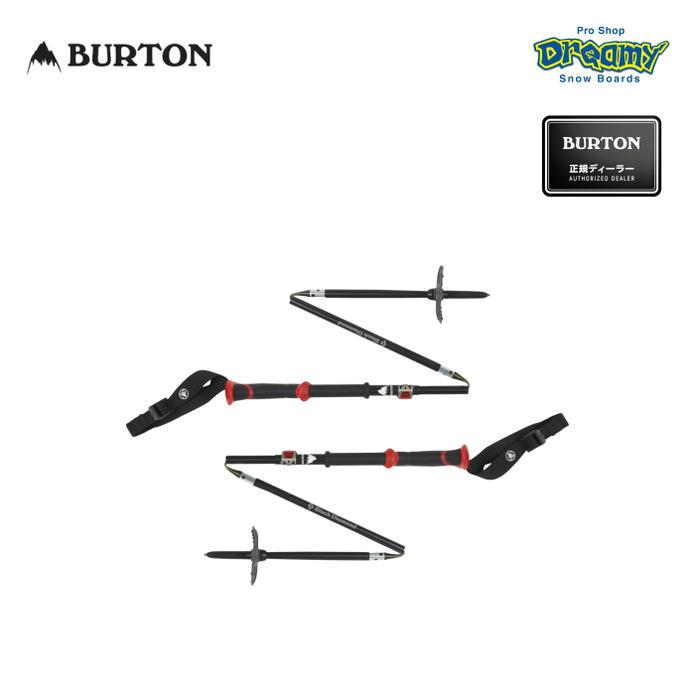 BURTON バートン Black Diamond Compactor Poles ブラック ダイヤモンド コンパクター ポール 165881 スプリットボーディング用ポール パッカブル設計 スノーグッズ WINTER 2019 正規品