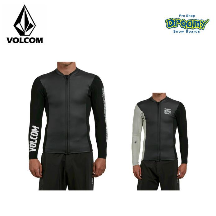 VOLCOM ボルコム CHESTICLE JACKET N1611800 2mm フロントジップタッパー 長袖 ジャケット 50+ UVカット ウェットスーツ 2018 SPRINGモデル 正規品