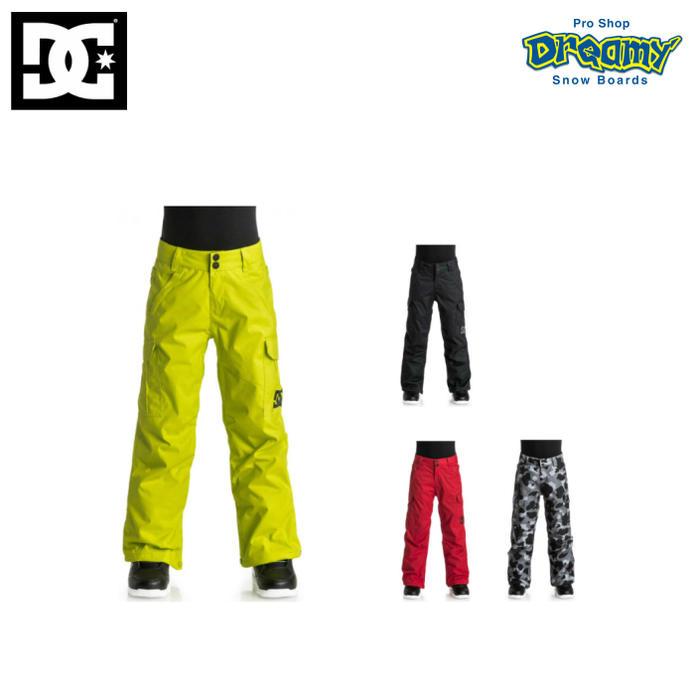 DC ディーシー BANSHEE YOUTH PNT EDBTP03003 レギュラーフィット 子供用 130~150cm パンツ スノーボード ウェア WINTER 2017モデル 正規品