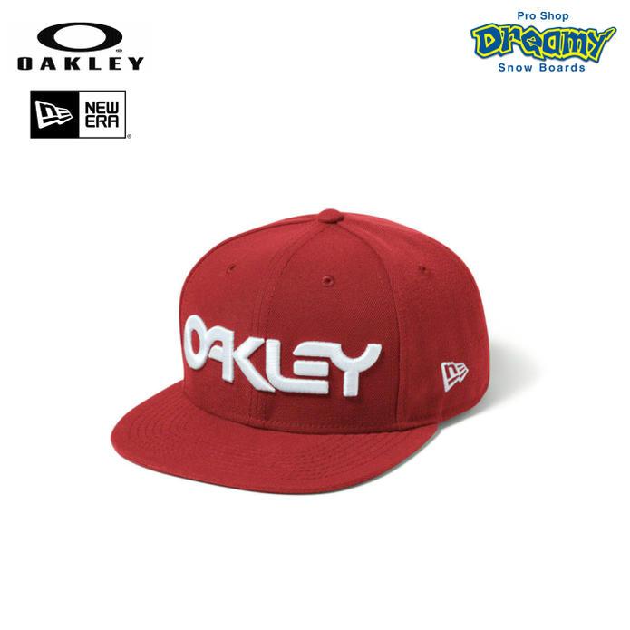b69d6951 OAKLEY Oakley MARK II NOVELTY SNAP BACK 911,784-465 Red Line New Era new  gills ...