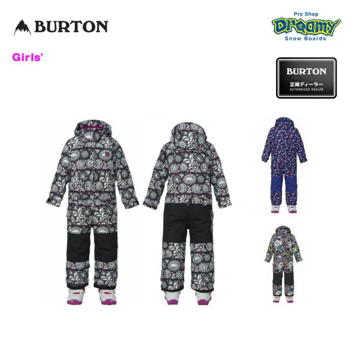 BURTON バートン Girls' Minishred Illusion One Piece 11573101 ジュニア ガールズ 子供用 スノーボード ウェア ワンピース 2017モデル 正規品