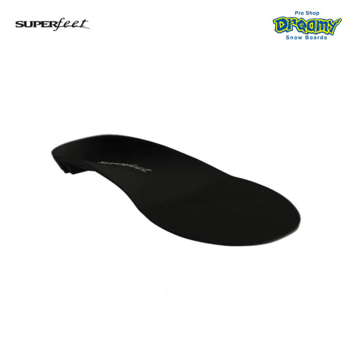 SUPERFEET スーパーフィート BLACK 過剰回内改善 ヒールカップ スタビライザーキャップ 特許取得 機能的 インソール 正規品