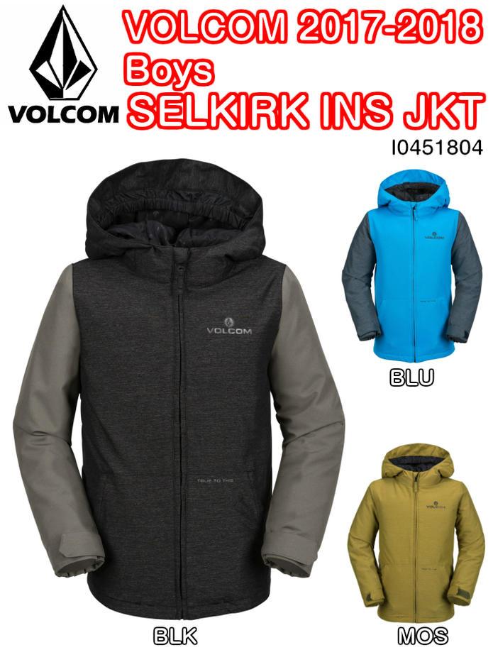 VOLCOM ボルコム SELKIRK 正規品 INS JKT I0451804 スノー ジャケット ジャケット リラックスフィット スノー スノーボードウェア ボーイズ 子供用 2018モデル 正規品, 雑貨店メルペール:c33210ee --- debyn.com