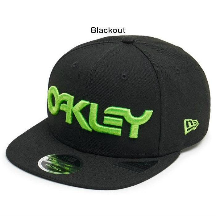 aebfa263d10 OAKLEY Oakley 6 Panel Hat Logo Neon 912206-02E Blackout New Era 9FIFTY new  gills snapback cap logo embroidery hat regular article