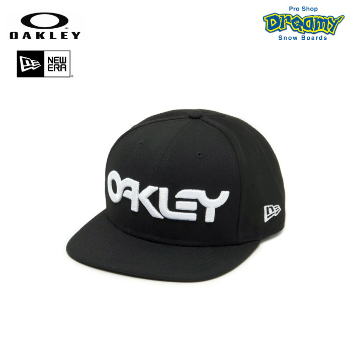 OAKLEY オークリー Mark II Novelty Snap Back 911784-02E Blackout New Era 9FIFTY ニューエラ スナップバック キャップ ロゴ 刺繍 帽子 正規品