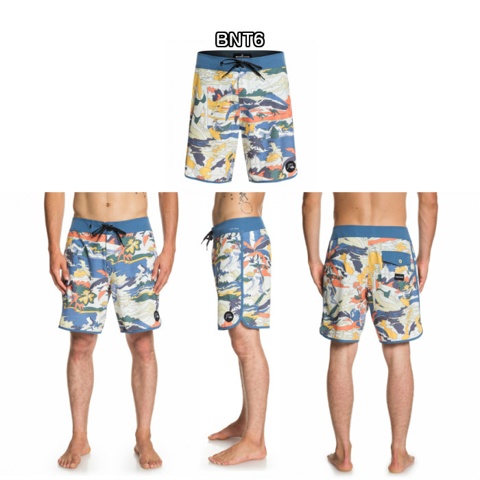 3edaa396a QUIKSILVER quick silver men Board shorts 18 inches HIGHLINE FEELIN FINE  18EQYBS04116 BNT6 Performance fitting 4AWY stretch logo