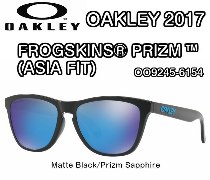 oakley frogskins prizm sapphire