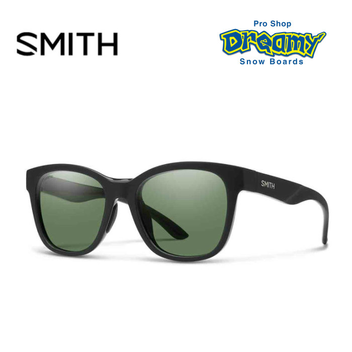 514856a7a7 SMITH Smith Caper Kay soft-headed Matte Black ChromaPop Polarized Gray Green   polarization  020446171 polarizing lens sunglasses 2018 model regular  article