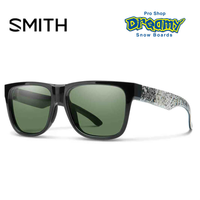 SMITH スミス LOWDOWN2 ローダウン2 020439303 Black Canvas Splatter ChromaPop Gray Green サングラス 2018モデル 正規品