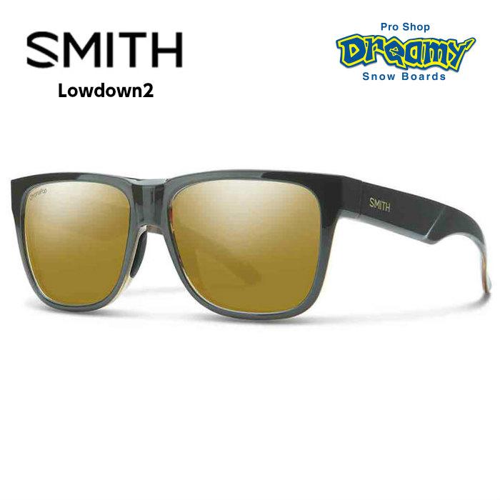 SMITH スミス LOWDOWN2 ローダウン2 020439302 Gravy Tortoise ChromaPop Polarized Bronze Mirror [偏光] サングラス 2018モデル 正規品
