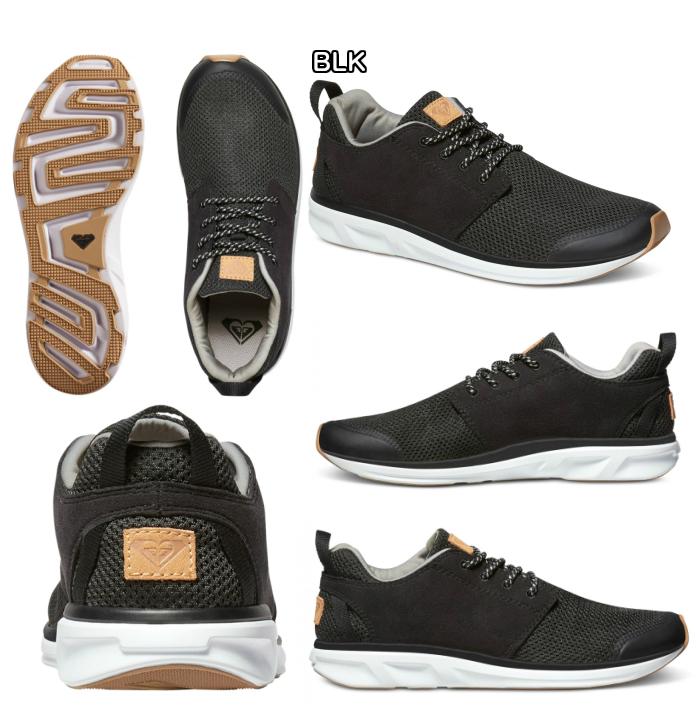 ROXY洛纪海运动鞋SET SESSION ARJS700116 EVA材料打击吸收OrthoLite鞋垫抗菌23-25cm女士2017型号正规的物品