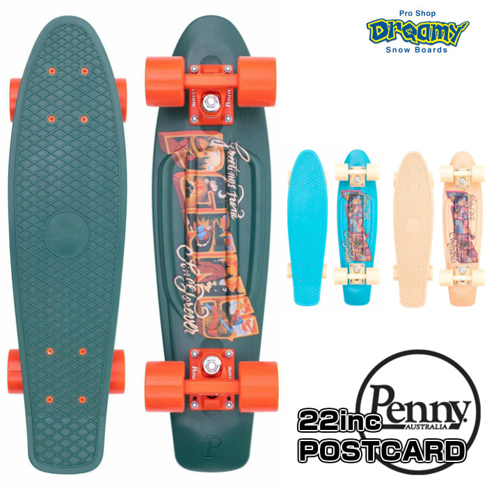 POSTCARDシリーズ Penny SkateBoard ペニースケートボード POSTCARD 22