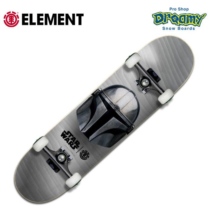 スターウォーズコラボ 8インチコンプリート ELEMENT スケートボード STAR WARS スターウォーズ BA037-478 SKATE COMPLETE コンプリートデッキ 8 インチ