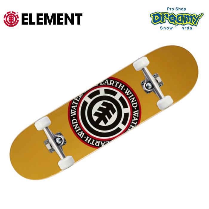 キッズサイズ 7.25インチコンプリート ELEMENT スケートボード キッズサイズ コンプリート BA027-449 SEAL SKATE COMPLETE コンプリートデッキ 7.25 インチ