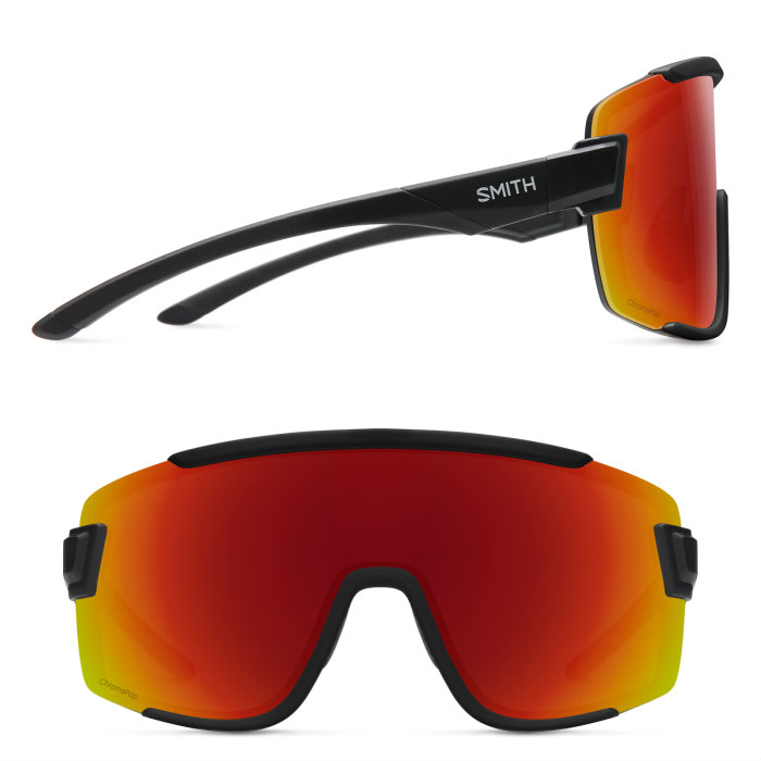 5e16c87c9 ... SMITH Smith Wildcat wild cat Matte Black 205000901 ChromaPop Sun Red  Mirror & Clear sunglasses