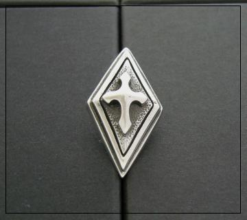 送料無料 【drive シルバーアクセサリー】 ドライヴ dt-001 ブロワピンバッジ silver925 シルバー925 シルバーアクセ sterlingsilver ピンバッヂ ブローチ ハンドメイド メイドインジャパン