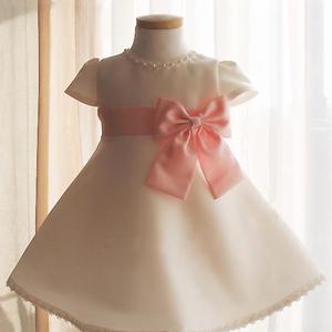フローリーピンクピーチドレス(1号、2号)子供ドレス 子供用ドレス こどもドレス ベビードレス 結婚式 発表会 コンクール