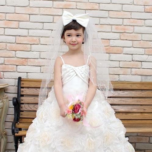 ヴェララグジュアリーロングドレス(1号~13号)子供ドレス 子供用ドレス こどもドレス ベビードレス 結婚式 発表会 コンクール
