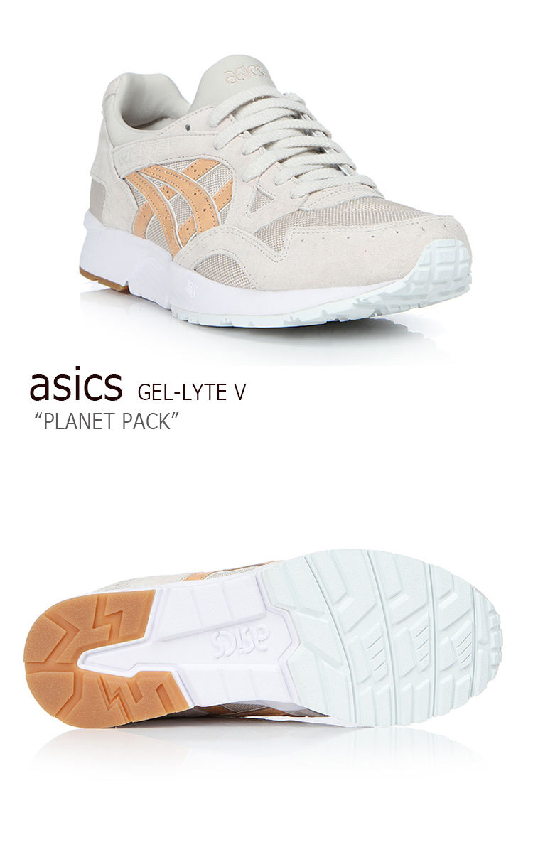 new product 6f88b f9ffe asics tiger/GEL-LYTE V/Planet Pack/Whisper Pink/Sand shoes