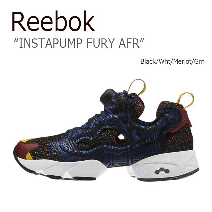 Reebok INSTAPUMP FURY AFR MERLOT 【リーボック】【ポンプフューリー】【アフリカン】【AR1706】 シューズ