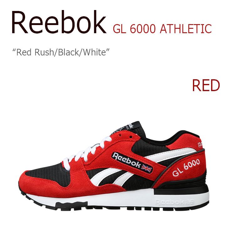 Reebok GL 6000 ATHLETIC Red Rush/Black/White【リーボック】【M45927】 シューズ