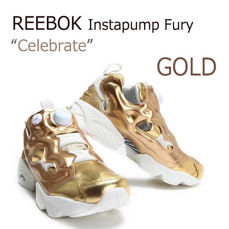 Reebok Insta Pump Fury CELEBRATE/GOLD 【リーボック】【インスタポンプフューリー】【V70094】 シューズ