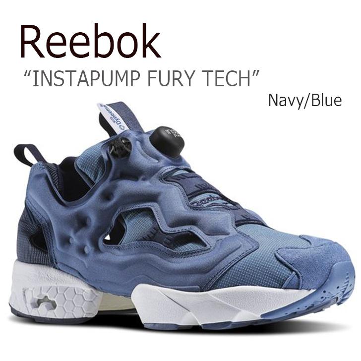 Reebok/INSTAPUMP FURY TECH/Navy/Blue【リーボック】【ポンプフューリー】【AR0624】 シューズ