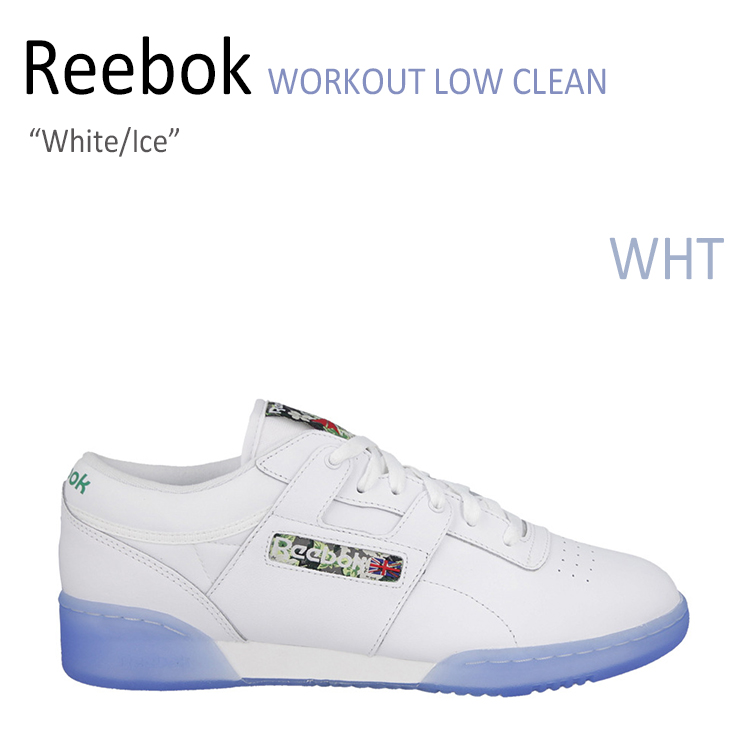 Reebok WORKOUT LOW CLEAN White/Ice 【リーボック】【V67875】 シューズ