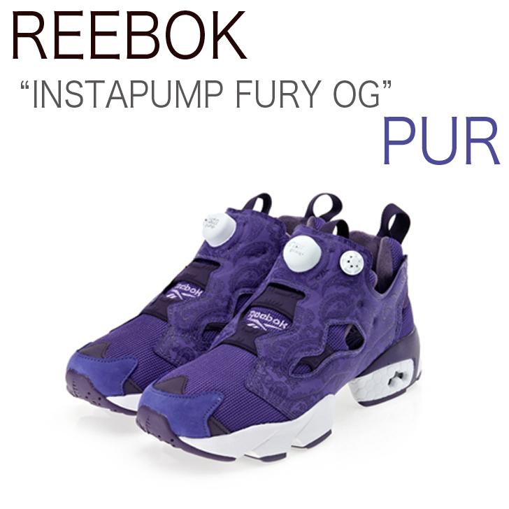 Reebok INSTAPUMP FURY ポンプフューリー / パープル/ペイズリー【リーボック】【ポンプフューリー】【V62248】 シューズ