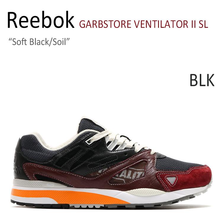 Reebok GARBSTORE VENTILATOR II SL Soft Black/Soil 【リーボック】【V69673】 シューズ