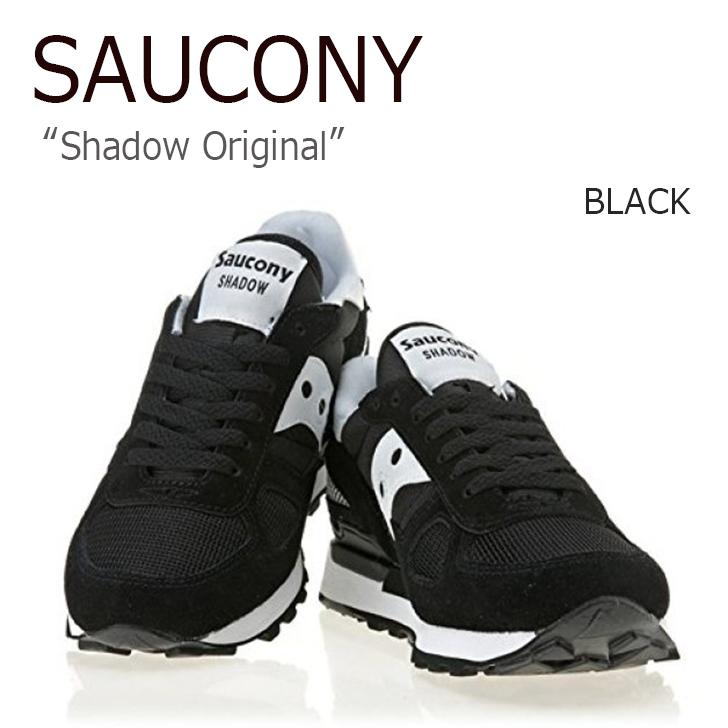サッカニー スニーカー Saucony メンズ レディース Shadow Original シャドウ オリジナル Black ブラック 1108-518 シューズ