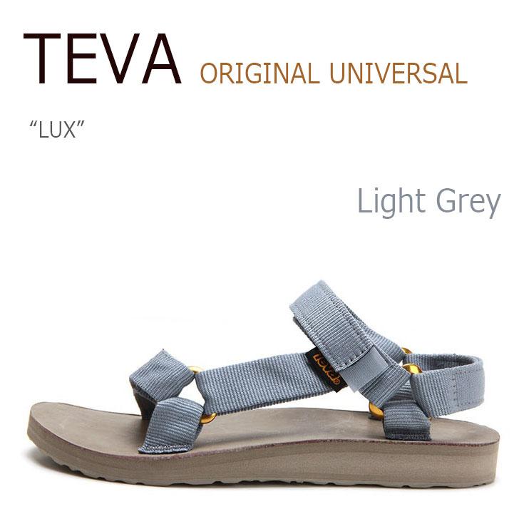 TEVA ORIGINAL UNIVERSAL LUX Light Grey【テバ】【サンダル】【1006910-TDW】 シューズ