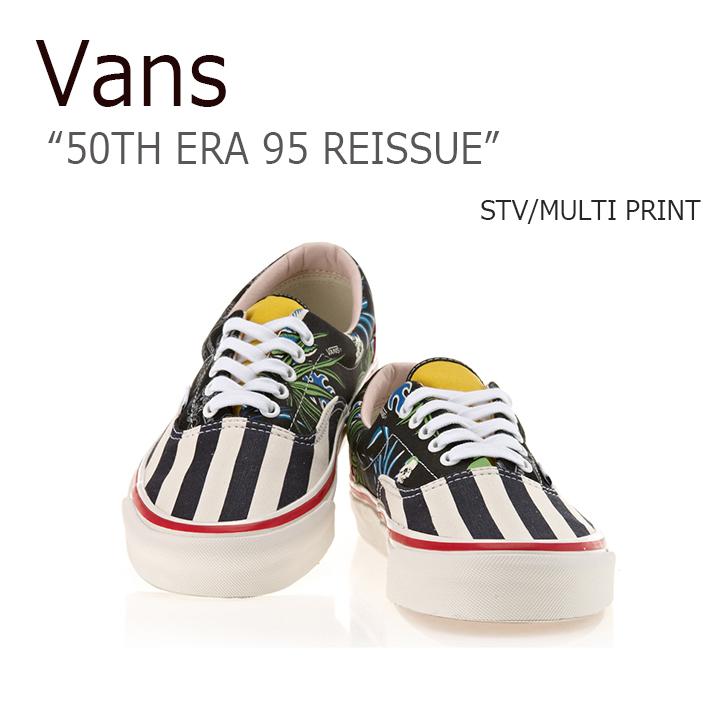 Vans/ERA 95 REISSUE/50TH/STV/MULTI PRINT【バンズ】【エラ95リイシュー】【VN0A2XRYJSO】 シューズ