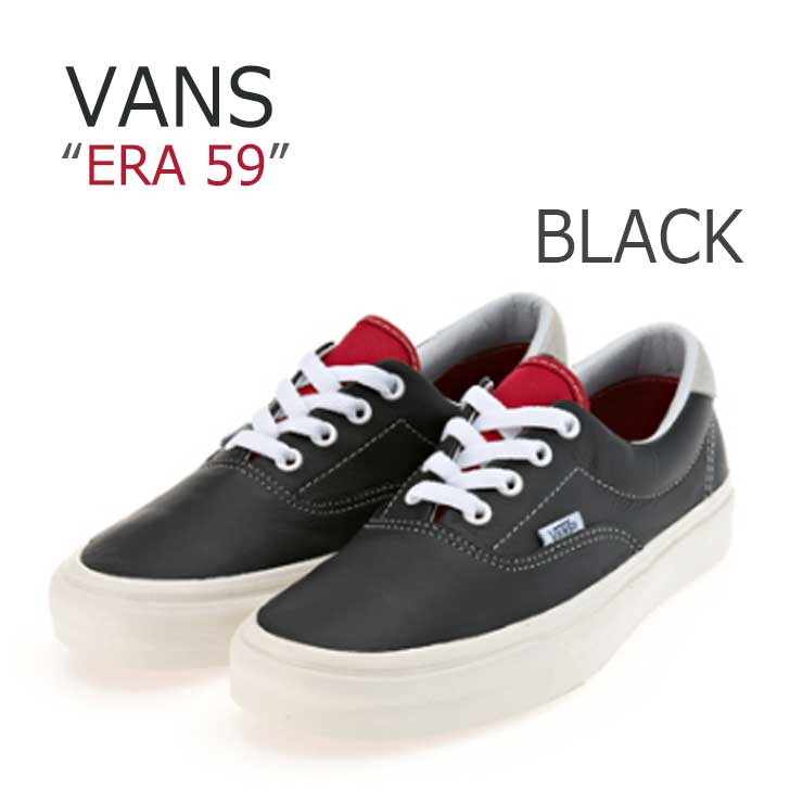 ERA 59 BLACK/RACING RED【バンズ】 【VN0003S4IL2】 シューズ