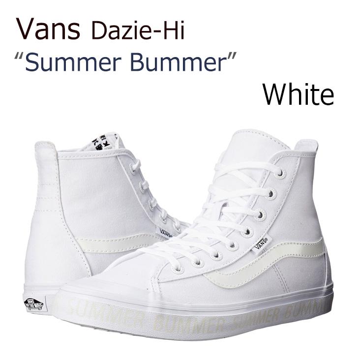 Vans Dazie-Hi White 【バンズ】【Summer Bummer】【レディース】【VN00019NIK1】 シューズ