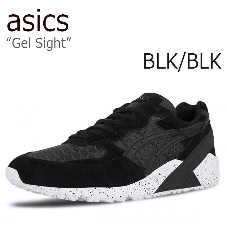 asics Gel-Sight /Black/Black【アシックスタイガー】【ゲルサイト】【H708L-9090】 シューズ