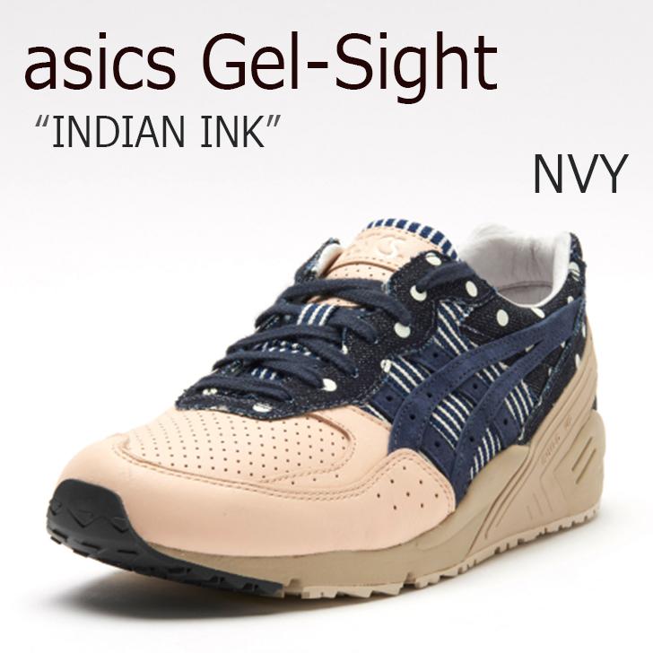 asics tiger/Gel-Sight/INDIAN INK【アシックスタイガー】【ゲルサイト】【H7K0N-5858】 シューズ