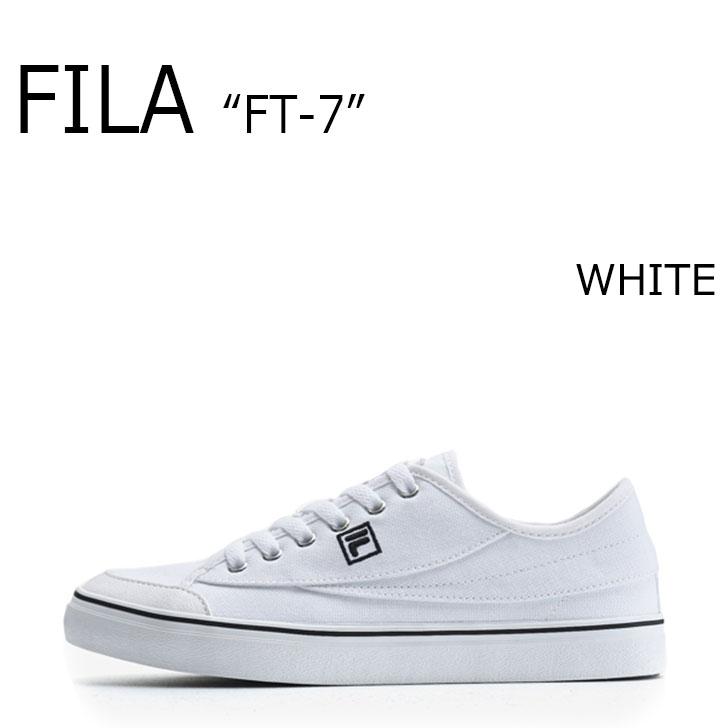 FILA FT-7/WHITE【フィラ】【エフティーセブン】【ホワイト】【F1XKZ0241】 シューズ