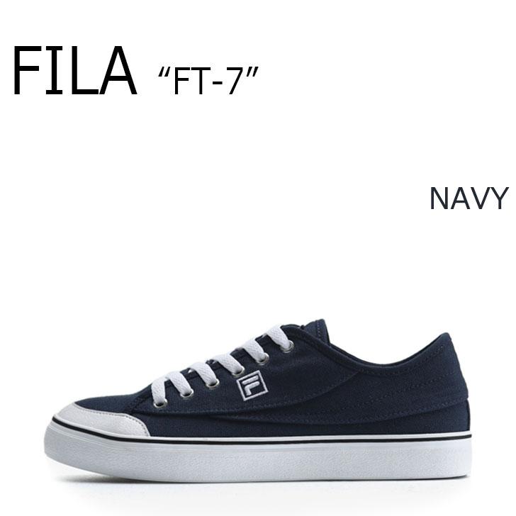 FILA FT-7/NAVY【フィラ】【エフティーセブン】【ネイビー】【F1XKZ0242】 シューズ